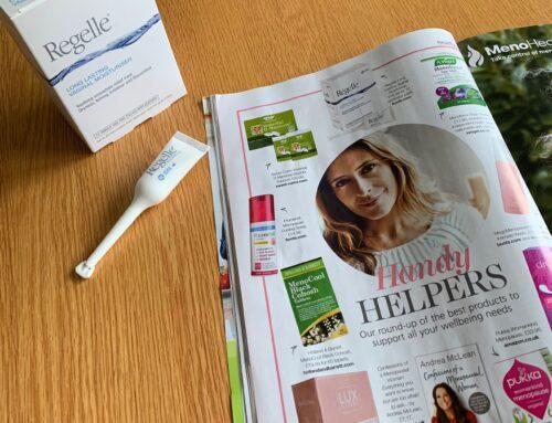 Regelle featured in Health and Wellbeing Magazine